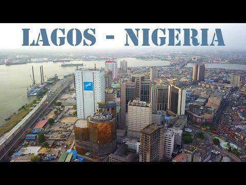 LAGOS  Nigeria - flying CMS- [4K drone footage]-(2019).