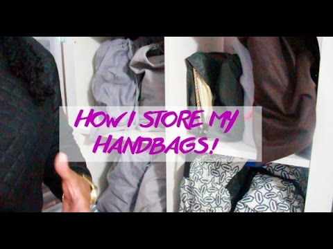Handbag Storage And Organization   DIY Handbag Shelf!   YouTube