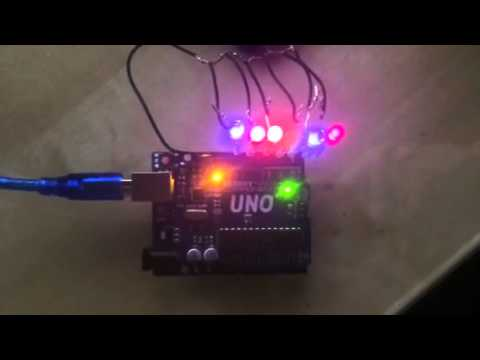 Phi Phenomenon LED Arduino