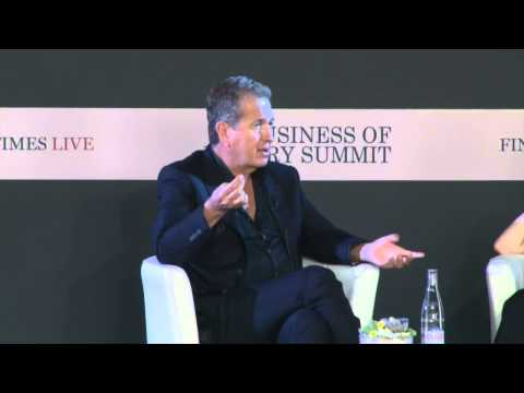 Mario Testino - Financial Times Business of Luxury Summit 2015