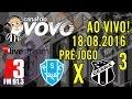 [Ao Vivo] Canal do Vovô | 18/08/2016 | Pré-jogo Paysandu SC X Ceará SC III