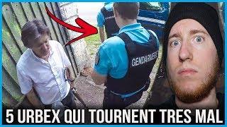 5 VIDÉOS URBEX QUI ONT TRÈS MAL TOURNÉ ! (POLICE, FUSIL, ALARME..) #7