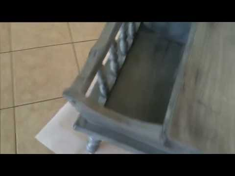 Chalk Paint Distressed Effect Without Sanding