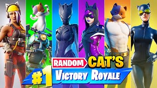 The *RANDOM* CAT Challenge in Fortnite!