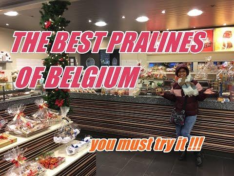 LEONIDAS PRALINES TOUR / THE BEST CHOCOLATE PRALINES OF BELGIUM | TRAVEL FOR FOOD