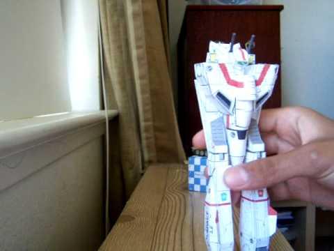 Papercraft VF-1J Paper Model