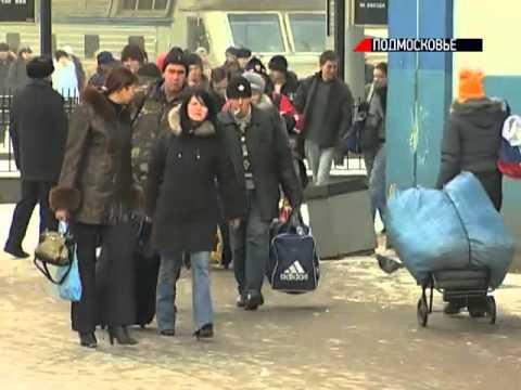 Жители Коломны жалуются на нехватку электричек
