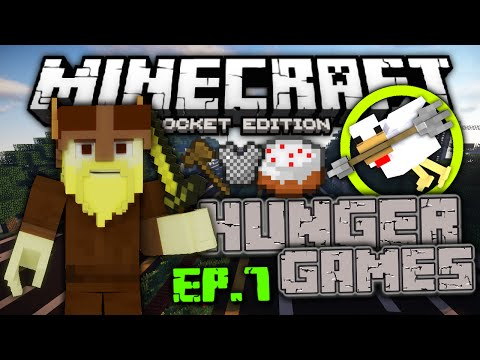 [0.11.1] LBSG Hunger Games #7 – Hackers and RAGING!!! - Minecraft Pocket Edition