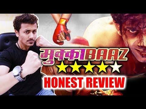 Mukkabaaz HONEST REVIEW | Vineet Kumar...