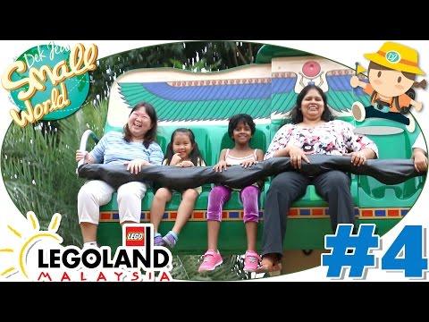เด็กจิ๋วเล่น Bounce และบ้านปีนป่าย (สวนสนุก Legoland #4) [N