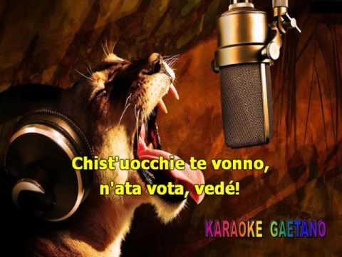 Sal da Vinci Tu ca nun chiagne Karaoke