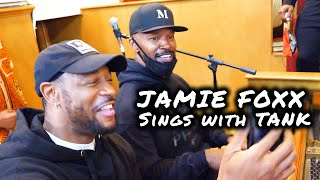 Piano Freestyle with Jamie Foxx and R&B Singer Tank