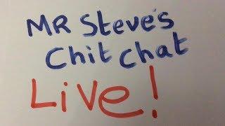 Mr Steve's  English chit chat live - I like cars -  I like big cars