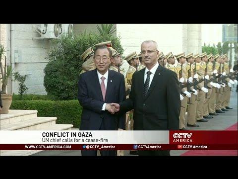 UN chief calls for Gaza cease-fire