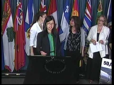 Elizabeth May: Alberta Oil Spill Press Conference