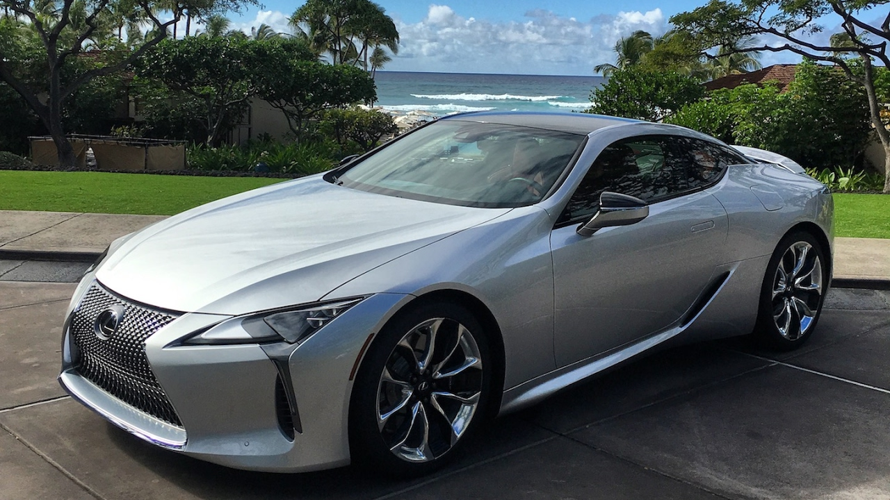 2018 Lexus Lc500 One Take Doovi