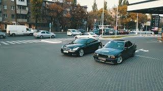 "Infiniti G37  vs  BMW E 34 (4,4)  !!! ""Баварский Волк"" достоин уважения !!!"