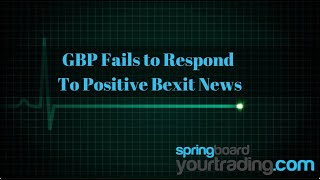 Watch how I traded the Forex pair GBPNZD as GBP fails to respond to positive Brexit comments!