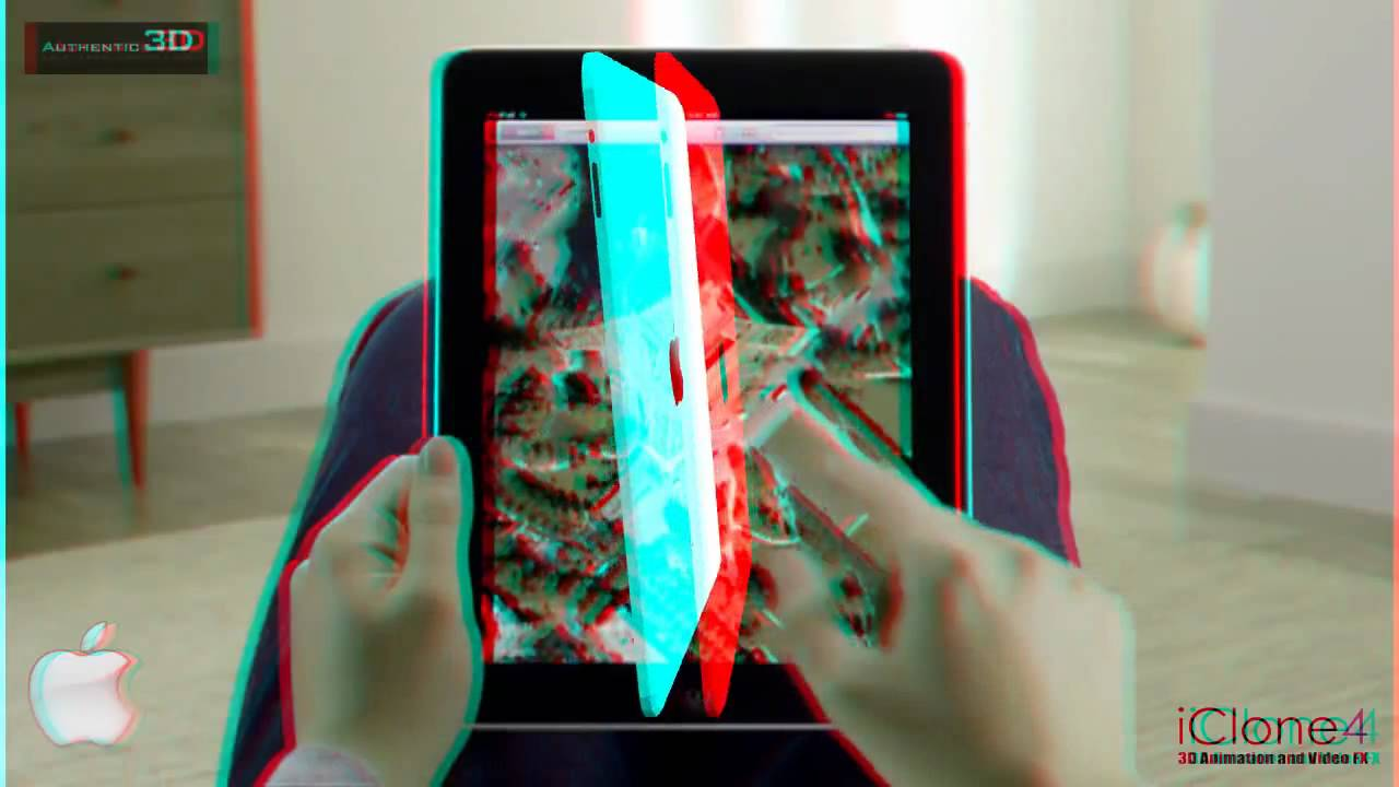 Ipad 3d Anaglyph