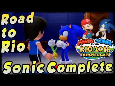 ABM: Mario & Sonic Rio Olympic! Road To Rio! *Sonic Story* FINALE!! (3DS) HD