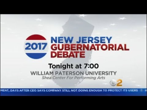 NJ Candidates For Governor To Face Off In Final Debate