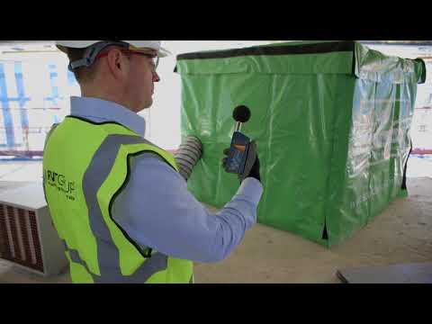 How To Soundproof A Construction Site With Soundex® Acoustic Enclosures - Noise Barriers & Fences.