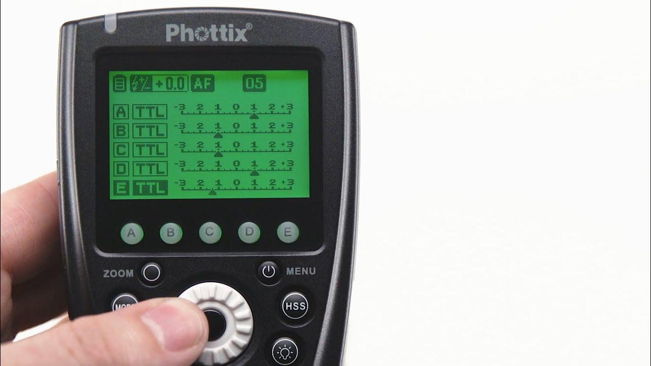 Drivers Update: PHOTTIX Odin TTL Trigger for Nikon