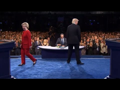 Hear how the crowd was the third player in the Trump, Clinton debate