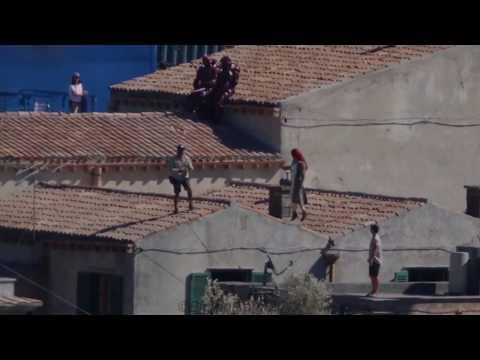 Aquaman Sicily set filming Mera rooftop run breakdown