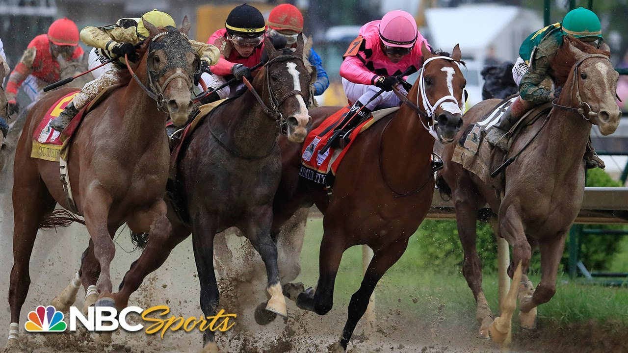 Kentucky Derby 2019 (FULL RACE) ends in historic controversial finish | NBC Sports - YouTube