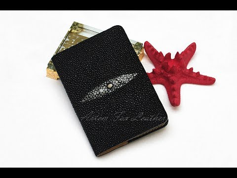 Обложка на паспорт из кожи морского ската
