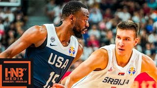 Serbia vs USA - Full Game Highlights | FIBA World Cup 2019