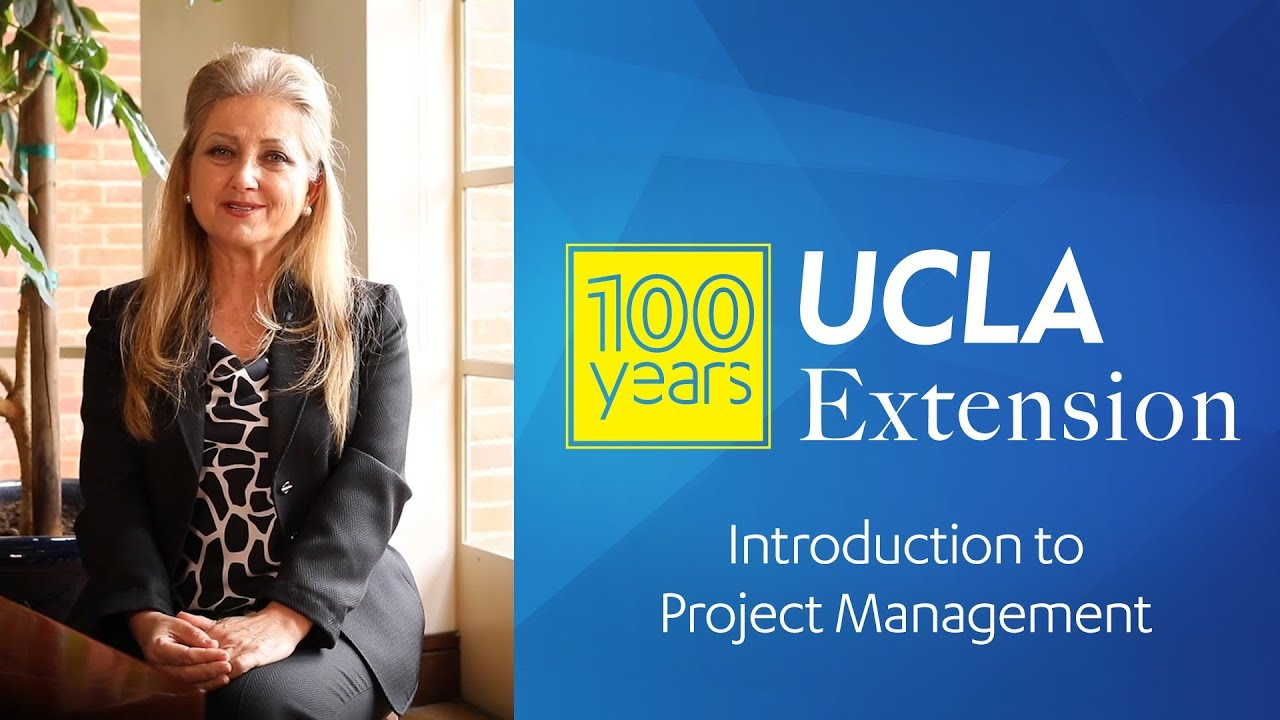 Ucla Extension Project Management Program Youtube