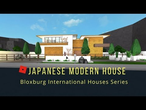 Welcome to Bloxburg | Japanese Modern House | Build Ideas #5 - YouTube