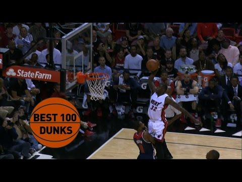 Best 100 Dunks: 2015 NBA Season