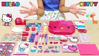 Hello Kitty Super Cute Mini Stationery Set
