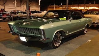 1965 Buick Riviera Gran Sport in Seafoam Green at World of Wheels - My Car Story with Lou Costabile