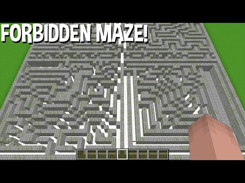 WAAR LEIDT Dit VERBODEN OUDE VERLATEN DOORLOOP IN Minecraft ??? VERvloekt Doolhof!