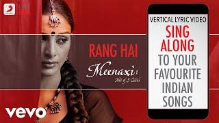 Gambar cover Rang Hai - Meenaxi|Official Bollywood Lyrics|Alka Yagnik