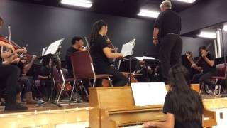 Peterson Middle School Orchestra - Dance of the Harlequins