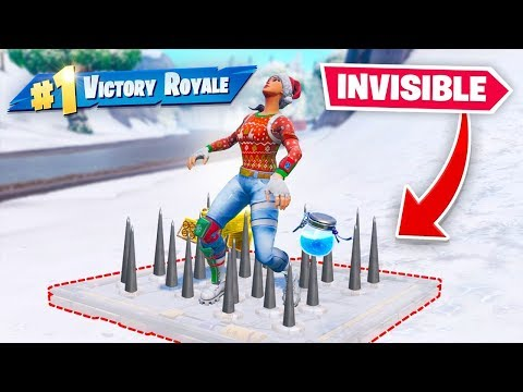 UNDERGROUND TRAP *GLITCH* (might get banned) In Fortnite Battle Royale