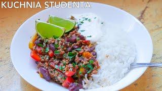 Najprostsze Chilli con carne za 5 zł | Kuchnia Studenta #43