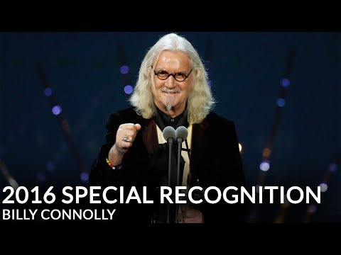 Billy Connolly receives NTA Special Recognition Award 2016