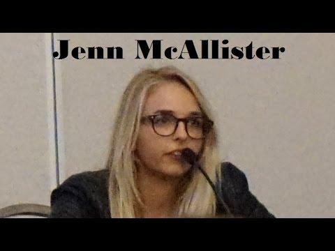 Jenn McAllister Q&A - VidCon 2016 - pt1