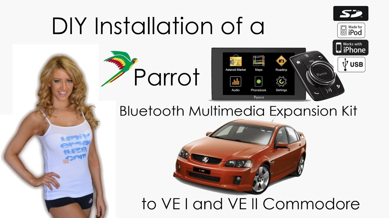 Parrot asteroid mini to holden ve commodore installation tutorial parrot asteroid mini to holden ve commodore installation tutorial video youtube greentooth Image collections