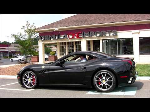 2010 Ferrari California - For Sale - Formula One Imports Charlotte