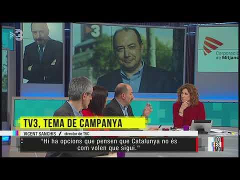 TV3, en el centre de la campanya