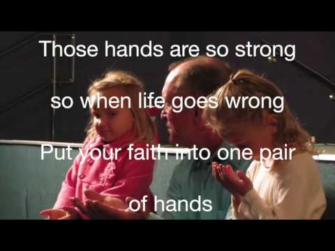 ONE PAIR OF HANDS with lyrics