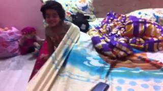 Lasya gugu hiding in the blanket Thumbnail