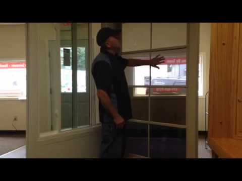 Watch This Eze-Breeze Sunroom Window Demonstration Cedar Falls Iowa